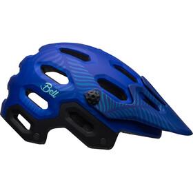 Bell Super 3 Mips Joy Helmet mat cobalt/pearl